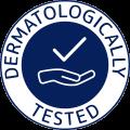 Dermatologically tested logo