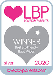 Bambo Nature awarded LBP 2020 Best Eco Friendly Baby Wipes SILVER
