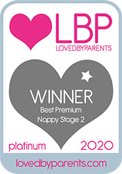 Bambo Nature awarded LBP 2020 Best Premium Nappy Size 2 PLATINUM