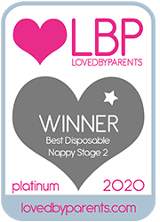 Bambo Nature awarded LBP 2020 Best Disposable Nappy Size 2 LATINUM
