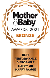 Bambo Nature awarded Project Baby Awards 2020 bronze