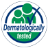 Dermatologically tested logo